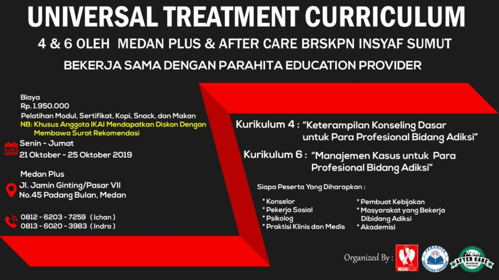 Universal Treatment Curriculum 4 & 6 bersama MedanPlus dan Partner
